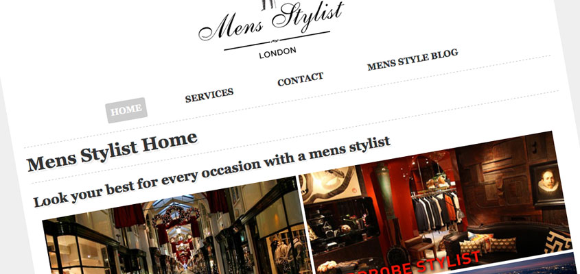 Mens Stylist Screenshot